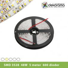 Hem Ledslinga 5m Varm Vit 3528 24W/300 dioder Inne IP21
