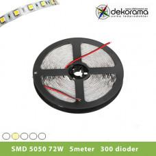 Hem Ledslinga 5m Varm Vit 5050 72W/300 dioder Inne IP21