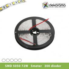 Hem Ledslinga 5m Vit 5050 72W/300 dioder Inne IP21