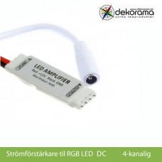 Hem Strömförstärkare mini RGB (DC kontakt)