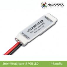 Hem Strömförstärkare mini RGB (Öppna ändar)