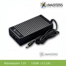 Hem Nätadapter 150W (12,5A) 12VDC IP20