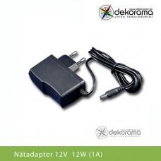 Hem Nätadapter 12W (1A) 12VDC IP20