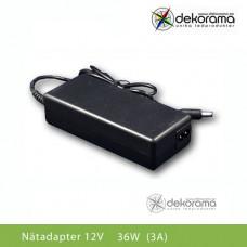 Hem Nätadapter 36W (3A) 12VDC IP20
