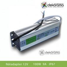 Hem Nätadapter 100W (8,3A) 12VDC IP67
