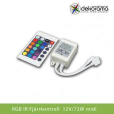 Hem Fjärrstyrning RGB RF Touch Fjärr 12V DC MIDI