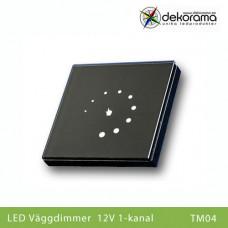 Hem Väggdimmer 12v Touch 1-kanalsdimmer punkt