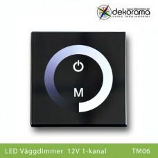 Hem Väggdimmer Touch 12v 1-kanalsdimmer
