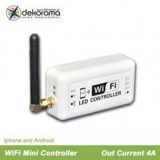 Hem WiFi Mini Enfärgs Controller, IOS, Android 4A per kanal