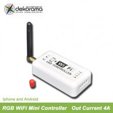 Hem WiFi Mini RGB Controller, IOS, Android 4A per kanal