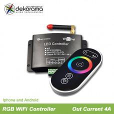Hem WiFi Maxi RGB Controller, IOS, Android 4A per kanal