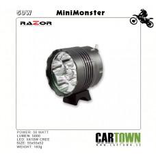 Razor LED M5 50W CREE pannlampa laddbar