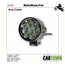 Razor LED M7 70W CREE laddbar minilampa