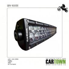 """RAZOR MC Ljusramp 2-raders 36W 7.5"""" med extra linsskydd"""