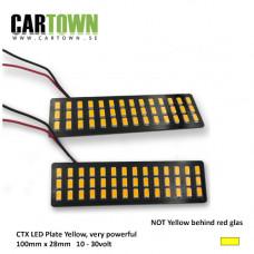 LED-Plattor Gul Blinkers lamphusmontering (1par) STD
