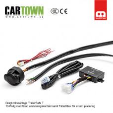 TrailerSafe 13-polig kontakt med tätad styrbox