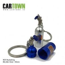 Nyckelring Lustgasflaska 2st Fri Frakt