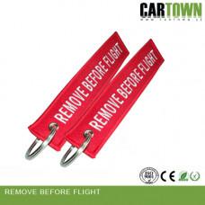 Nyckelring RBF Röd 2st