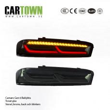 Baklyktor LED Camaro Gen6