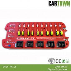 Digiwatt Digital relä och styrpanel