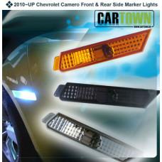Sidomarkering Camaro 2010-2013 4st klar/vitt