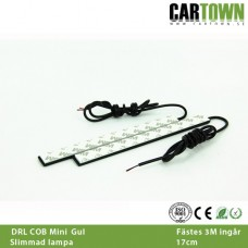 DRL Dekor Gult ljus COB UltraSlim 2st,
