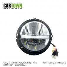 "Framlyktor Led CTX Retro 5"" park 1par"