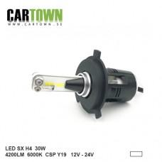 LED SX H4 30W Ersättnings KIT 4200 Lumen