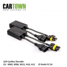 LED Decoder CanBus 9005/6/12, H10/12