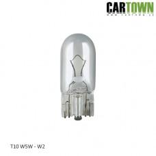 Glödlampa T10 W5W (Vit) (2st)