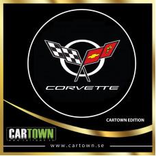 Laserlogo Corvette