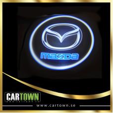 Laserlogo Mazda