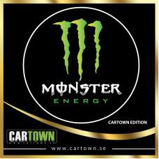 Laserlogo Monster