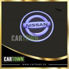 Laserlogo Nissan