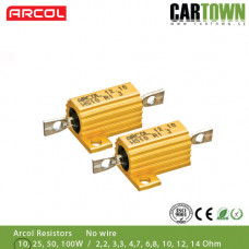 Motstånd Arcol 10W 6,8ohm (2st) utan sladd