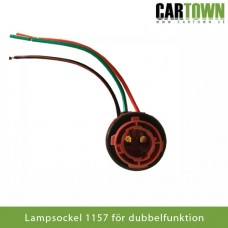 Lampsockel 1157 lampa med dubbelfunktion