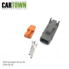DTM-kontakt 2-polig hona