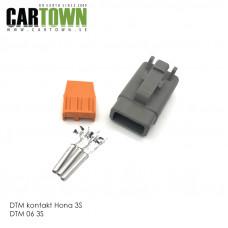 DTM-kontakt 3-polig hona