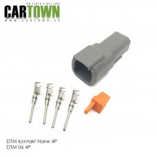 DTM-kontakt 4-polig hane