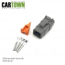 DTM-kontakt 4-polig hona