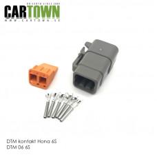 DTM-kontakt 6-polig hona