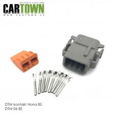 DTM-kontakt 8-polig hona