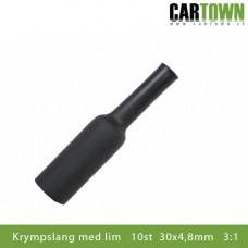 Krympslang lim 10st 30x4,8mm 3:1