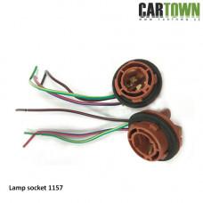 Lampsockel 1157 lampa med dubbelfunktion