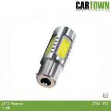 LED Plasma 1156 BA15s Gul (1st)