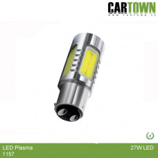LED Plasma 1157 Bay15D Vit/Vit (1st)