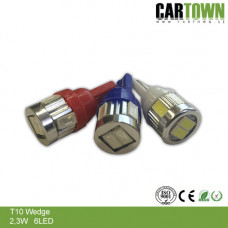 LED T10 W5W 6SMD Mini (2st)