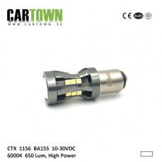 Ledlampa 1156 BA15S HP VIT (1st)