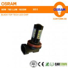 LED OSRAM H11 Vit (1st)