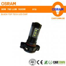 LED OSRAM H16 Vit (1st)